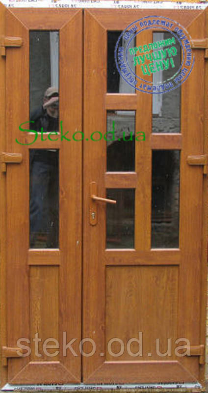 Входные двери ламинация  дуб