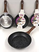 Сковорода с антипригарным мраморным покрытием Benson BN-522 - 20 cм