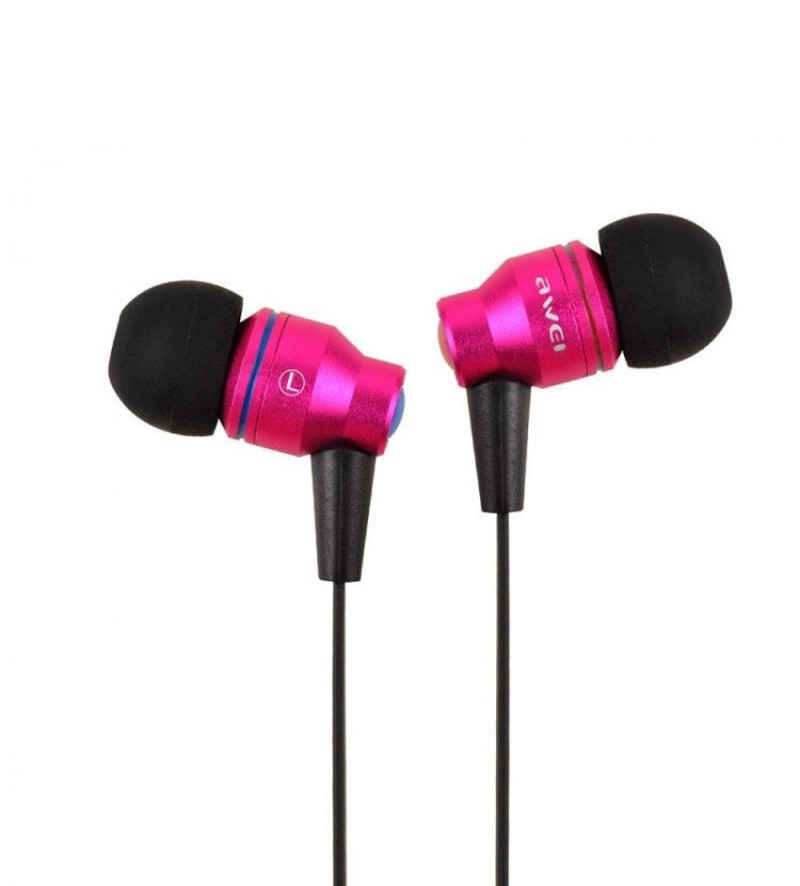 Наушники Awei TE800i Pink (3-00082_2)