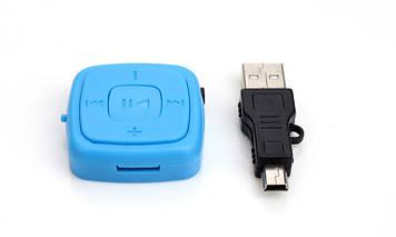 MP3 плеер с браслетом Голубой  (884)