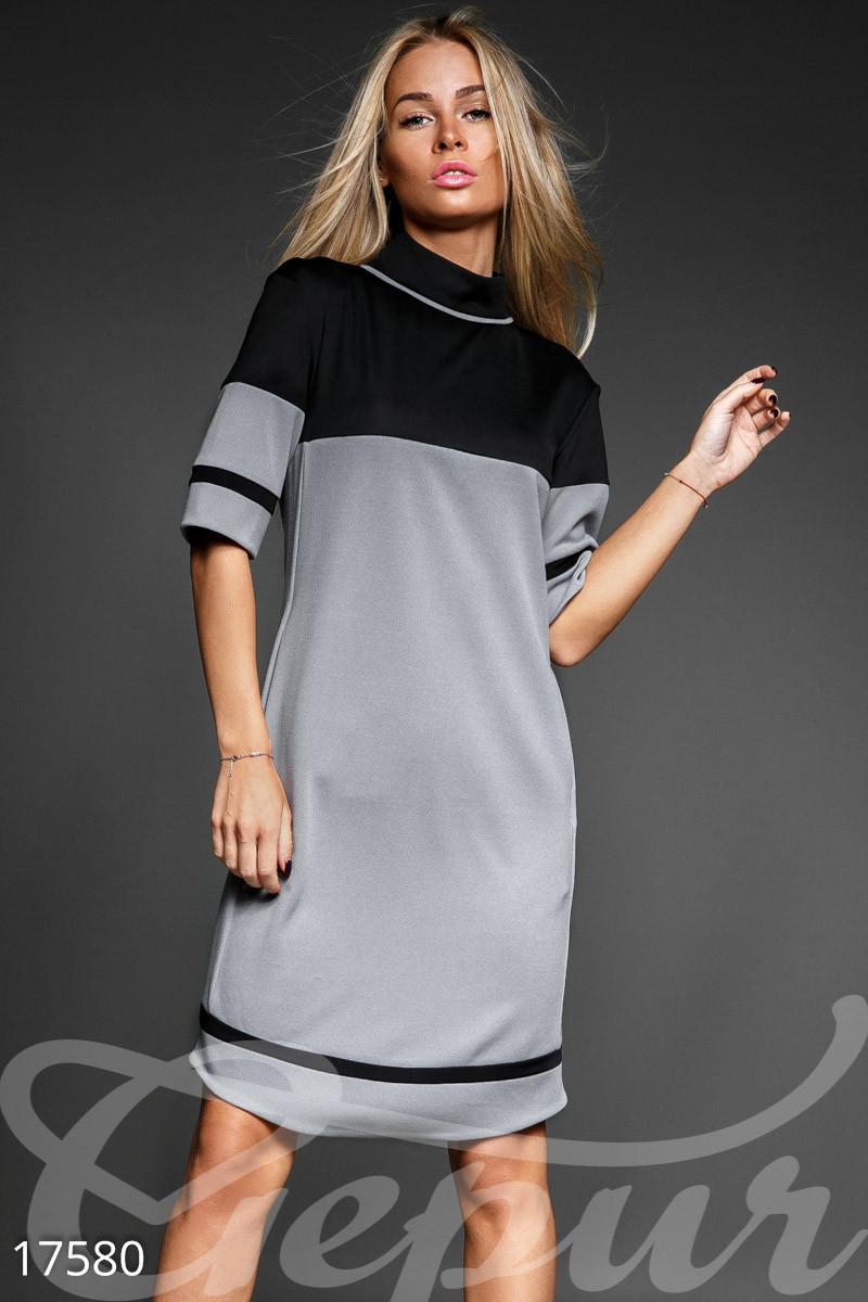 Стильное платье-миди Gepur 17580