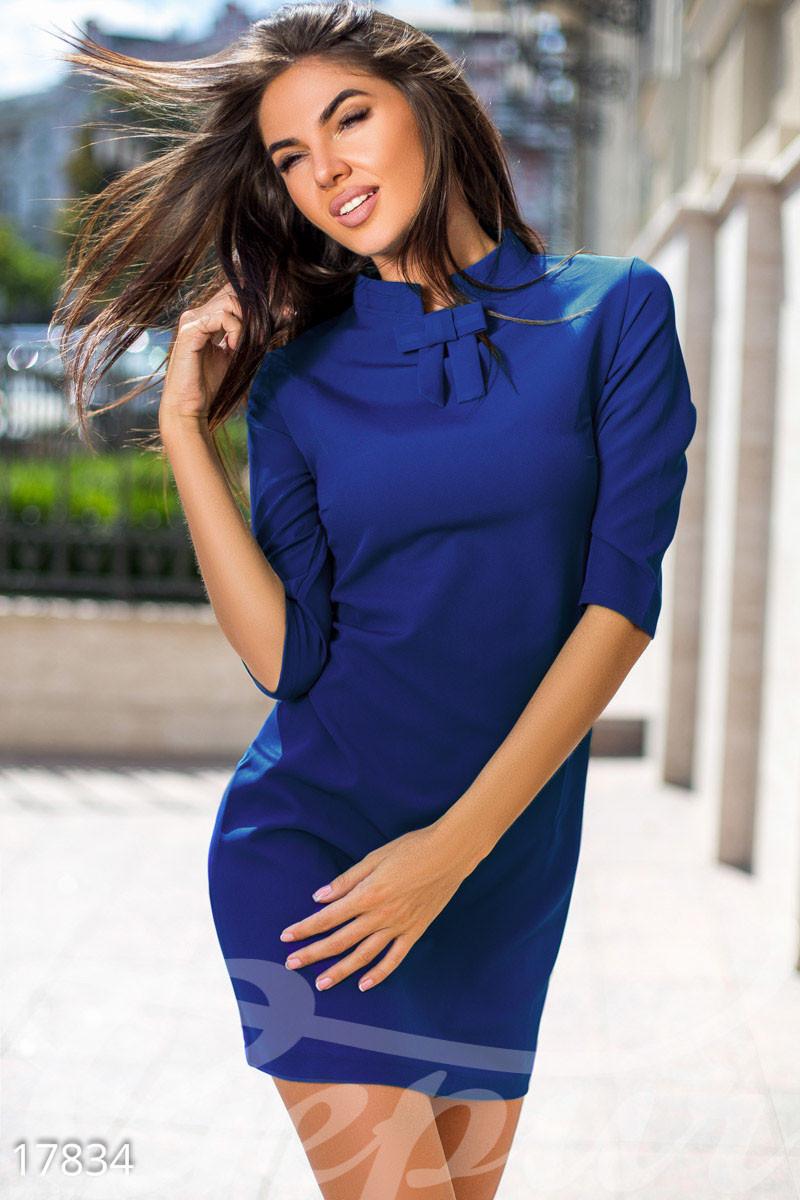 Лаконичное платье-трапеция Gepur 17834