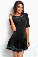 Короткое платье-трапеция Gepur 17906, фото 1