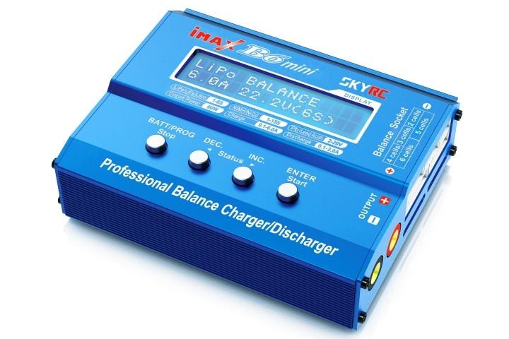 Зарядний пристрій SkyRC iMAX B6 mini 6A/60W без/БЖ універсальний