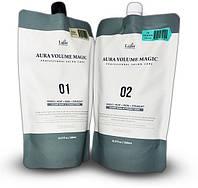 Спец. средства для выпрямления волос La'dor Aura Volume Magic - 2 шт.