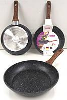 Сковорода с антипригарным мраморным покрытием Benson BN-524 - 24 cм