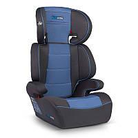 Детское автокресло для ребёнка, дитяче автокрісло Rickokids Sandro 15 – 36 кг черное с синим