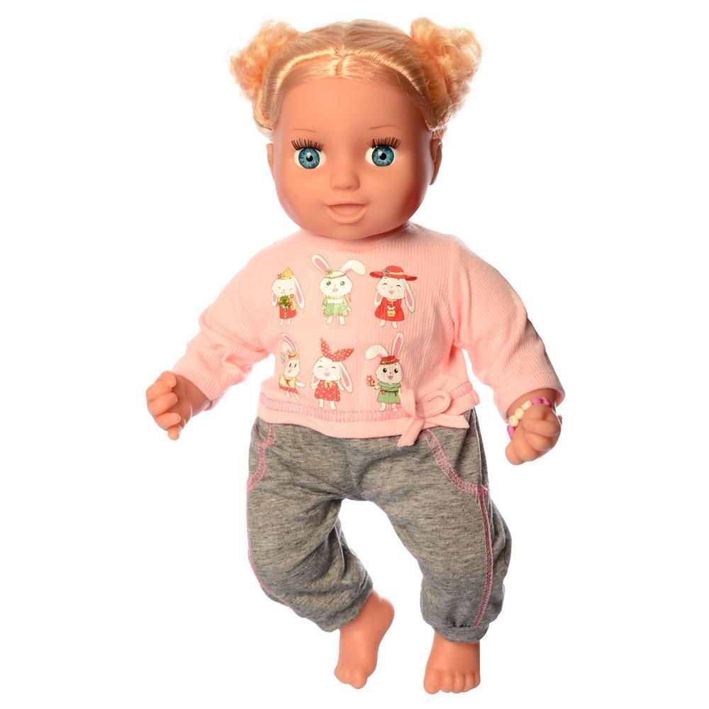 Кукла LimoToy Маленький миленький WZJ024B-1IC интерактивная мягконабивная