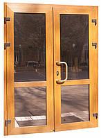 Входные двери ламинация золотой дуб, фото 1