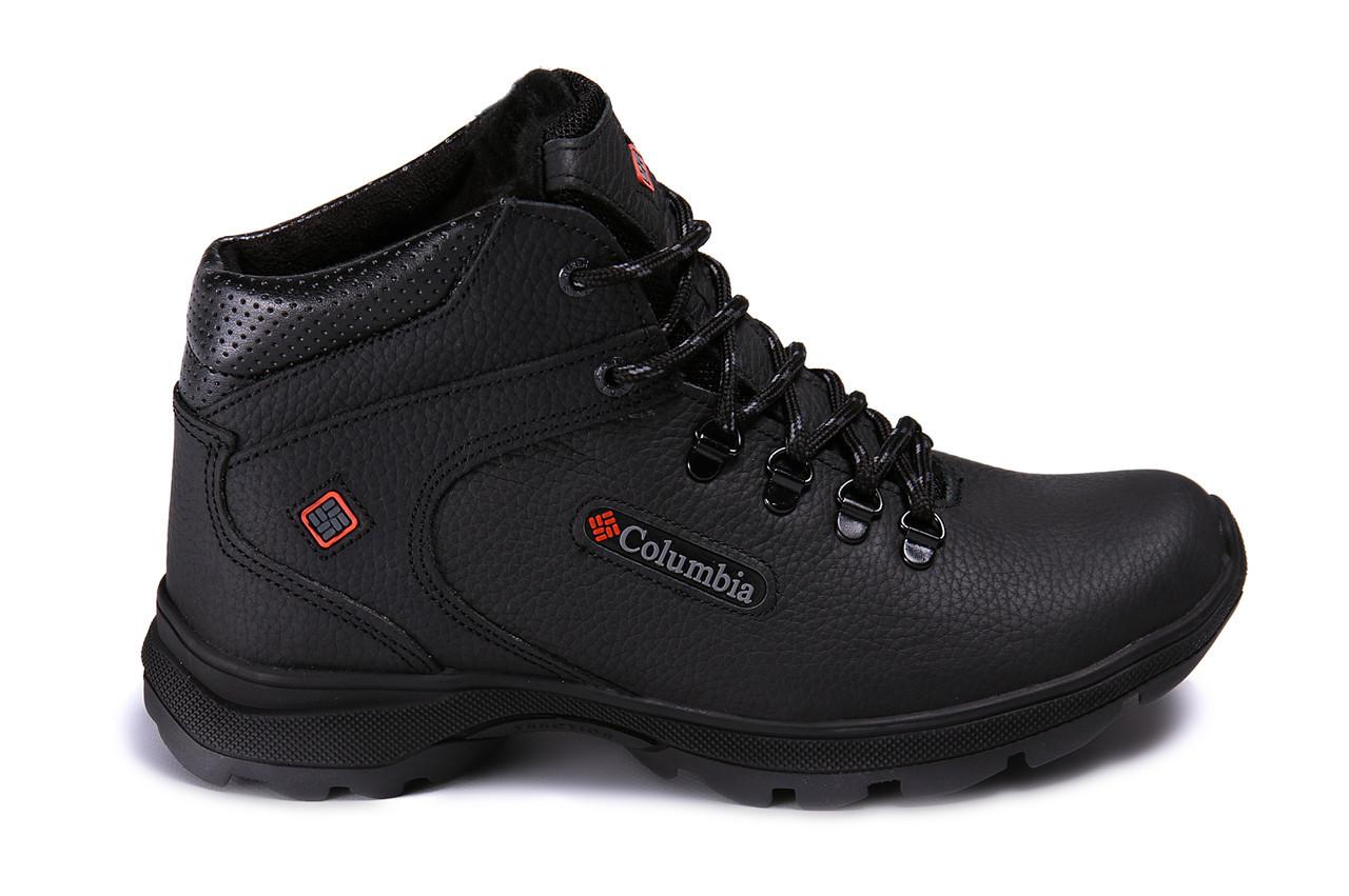 Мужские кожаные зимние ботинки Columbia Track Control (реплика), фото 1