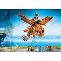 """Игровой набор Playmobil """"Как приручить дракона 3"""" Рыбьенг и Сарделька (9460)"""