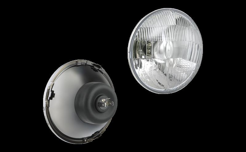 Оптический элемент для ВАЗ 2103-2106 (Ø144) - H4  Wesem RE.02707