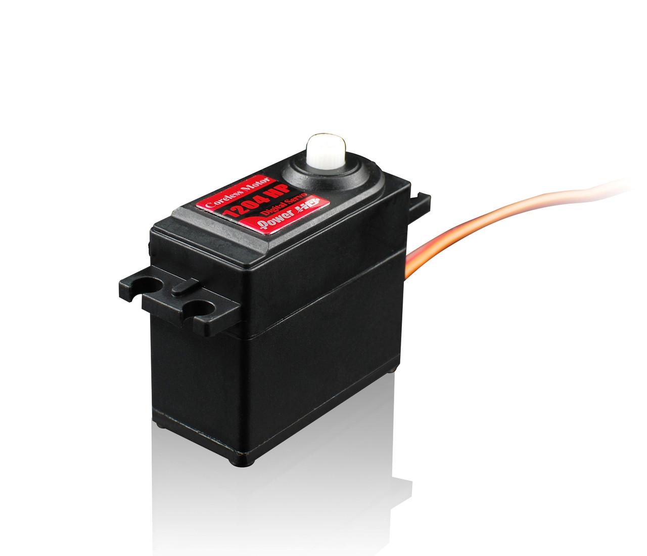 Сервопривід стандарт 50г Power HD 1204HP 4кг/0.06 сек цифровий