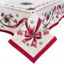 Скатерть новогодняя гобеленовая,137х280 см, Эксклюзивные подарки, Новогодний текстиль