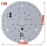 Smart IC 15w 220V 6000K 104x104 Светодиод 18 ватт в Светодиодный Потолочный Светильник