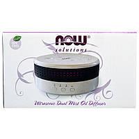 Ультразвуковой диффузор (Ultrasonic Dual Mist Oil Diffuser), Now Foods, 1 шт., фото 1