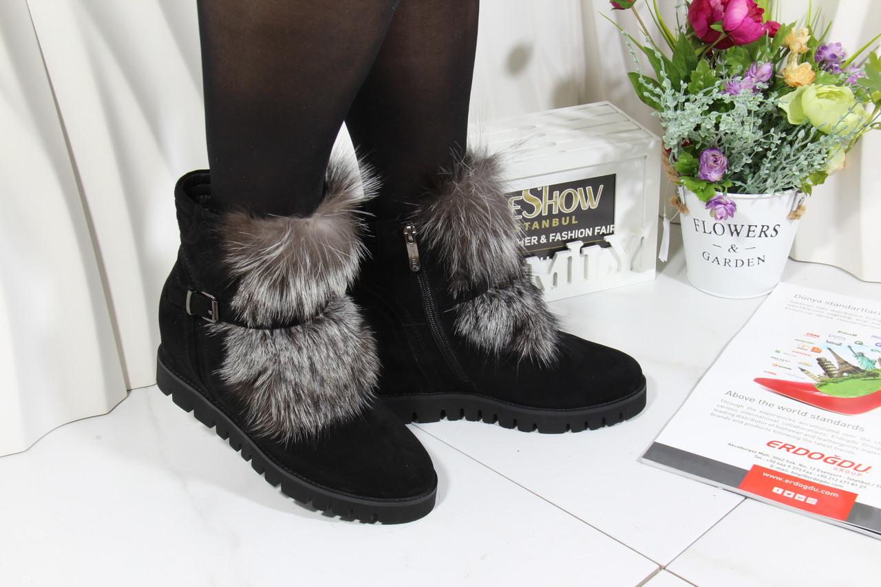 Стильные зимние ботинки Sufina M7080