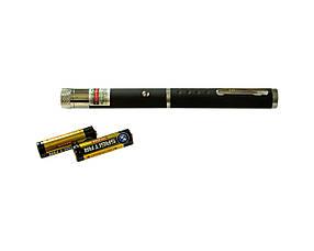 Лазерная указка 2-х цветная с насадкой Черная 2341, КОД: 1151848