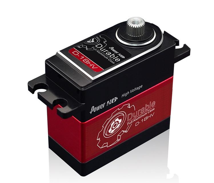 Сервопривід стандарт 75г Power HD D-18HV HV 18кг/0.10 сек цифровий
