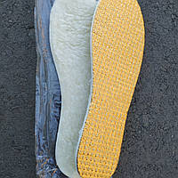 Термо-Стельки зимние  Овчина+Фольга (золото)36-46, фото 1