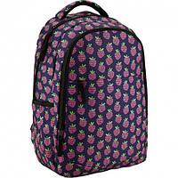 Рюкзак городской GoPack 131 GO-1 фиолетовый 16 л мягкая спинка