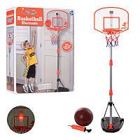 Детское баскетбольное кольцо на стойке