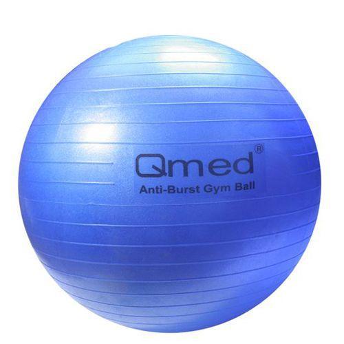 Мяч для гимнастики Qmed, синий