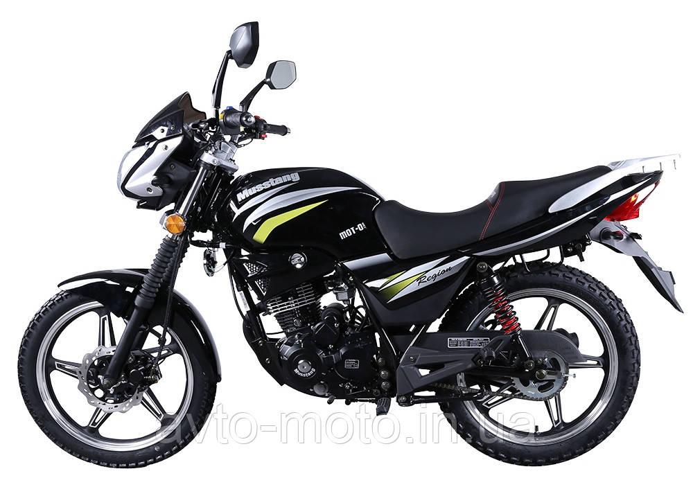 Мотоцикл Musstang Region МТ-150