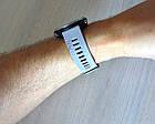 Смарт-годинник Garmin Forerunner 645 Sandstone with Stainless Hardware з Сірим ремінцем, фото 9
