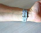 Смарт-годинник Garmin Forerunner 645 Sandstone with Stainless Hardware з Сірим ремінцем, фото 10