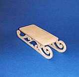 САНИ (САНКИ) заготівля для декупажу та декору, фото 3