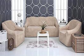 Комплект чохлів 3-1-1 VENERA (на диван і крісла, тканина - плюш)