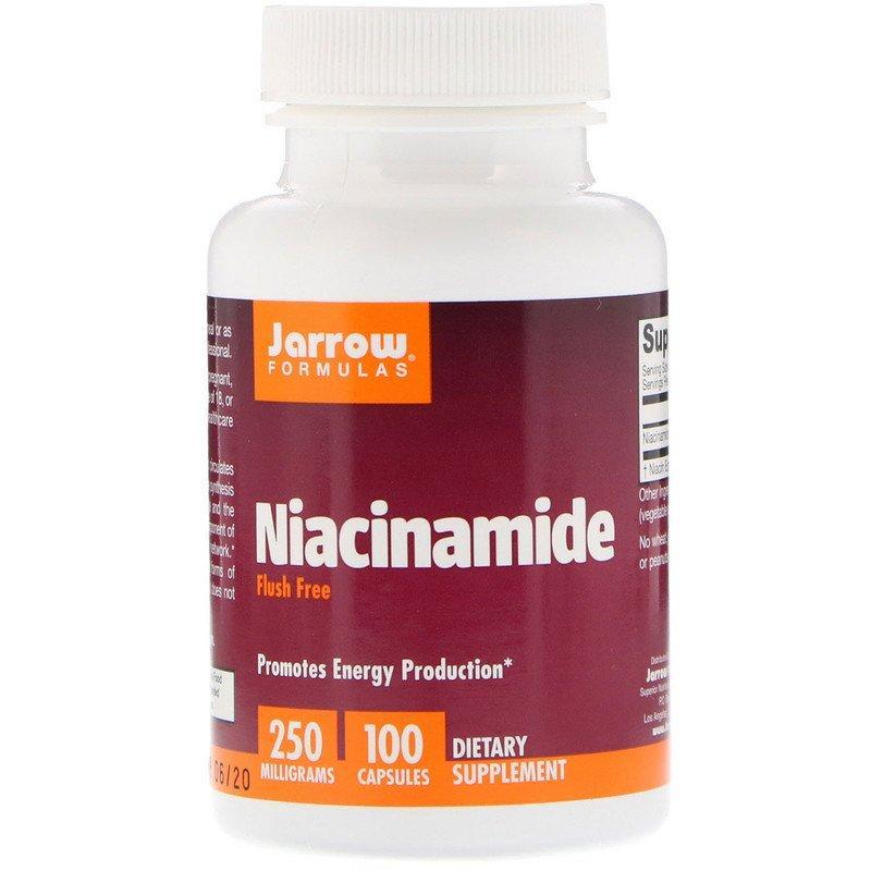 "Ниацинамид Jarrow Formulas ""Niacinamide"" 250 мг (100 капсул)"