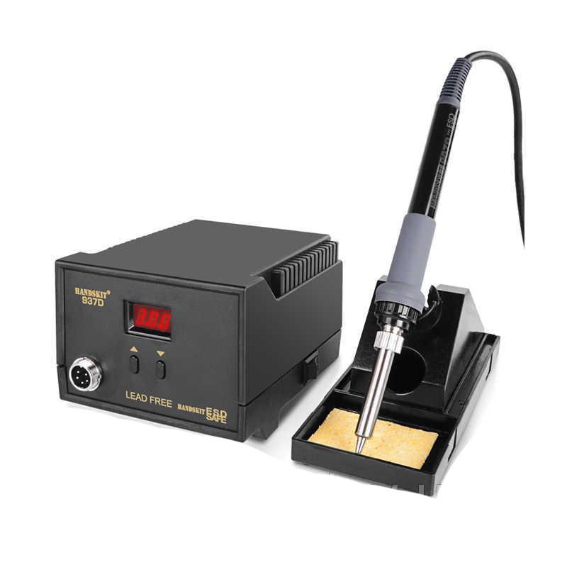 Контактная паяльная станция c дисплеем HandsKit 937D