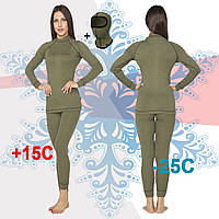 Женское тактическое термобелье Radical Hunter (original), теплое зимнее, комплект, фото 1