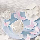 Плунжер Метелики маленькі 3шт (кнопка), фото 3
