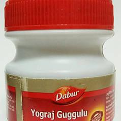 Йогорадж Гуггул Дабур (Yograj Guggulu Dabur) для поддержания здоровья опорно-двигательного аппарата, 120 таб.