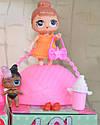 LQL 2 серия. 2 куклы в 1  шаре (10 см)., фото 3