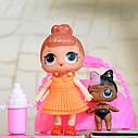 LQL 2 серия. 2 куклы в 1  шаре (10 см)., фото 2