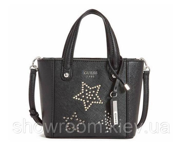 Женская стильная сумочка Guess (191) черная