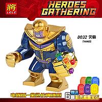 Танос с перчаткой бесконечности, конструктор аналог Лего