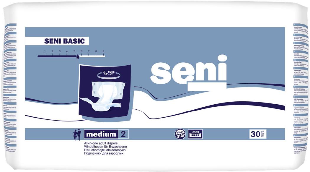 Подгузники для взрослых Seni Basic Medium (30шт.)