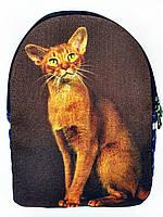 Текстильный рюкзак АБИССИНСКАЯ КОШКА, фото 1