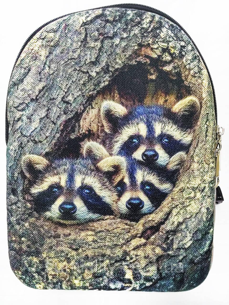 Текстильный рюкзак Енотики 2