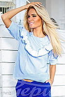 Легкая хлопковая блуза Gepur 17412, фото 1