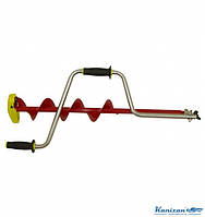 Ледобур рыболовный iDabur (Айдабур) Стандарт 110 кованые ножи.СУПЕР БУР. Подарок рыбаку, фото 1
