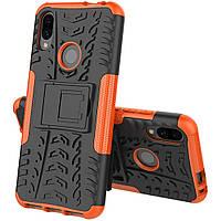 Чехол Armor Case для Xiaomi Redmi Note 7 / Note 7 Pro Оранжевый