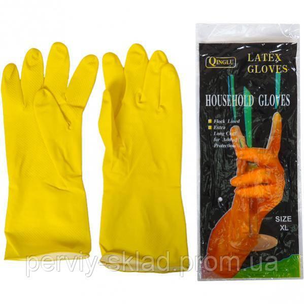 """Перчатки латексные Household Gloves """"XL"""""""