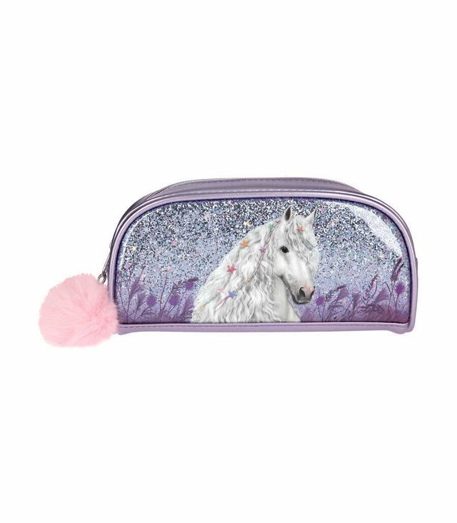 Пенал-косметичка ТОР Model Miss Melody фіолетовий - Місячний Кінь (Top-Model пенал косметичка Лунная лошадка)