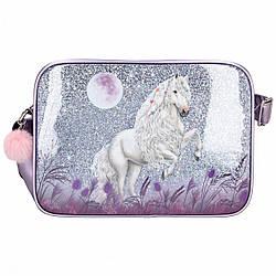 Сумка ТОР Model Miss Melody фіолетова - Місячний Кінь ( Top-Model сумка Лунная лошадка )
